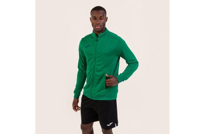 Олимпийка (мастерка) зеленая Joma TORNEO II