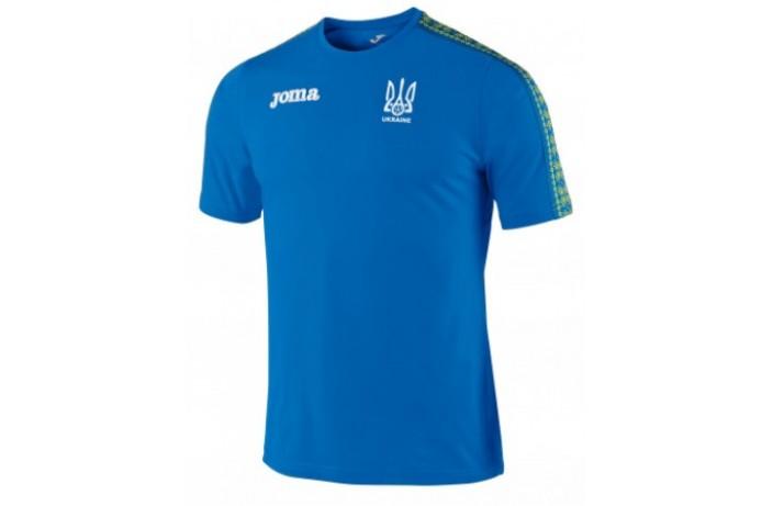 Футболка синяя Joma сборной Украины