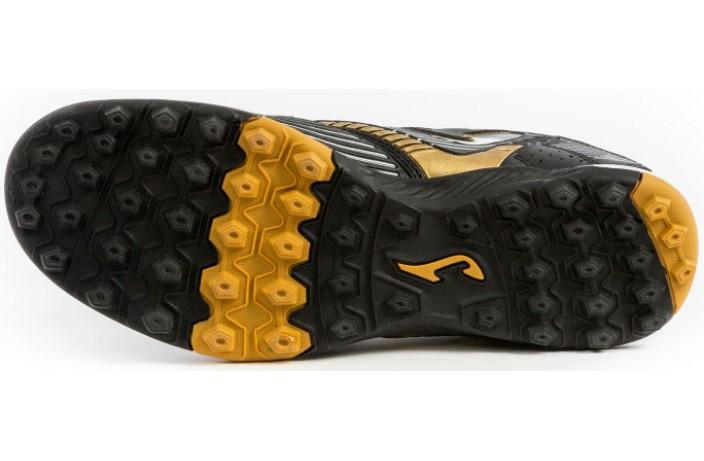 Сороконожки (шиповки, многошиповки) черно-золотые Joma MAXIMA
