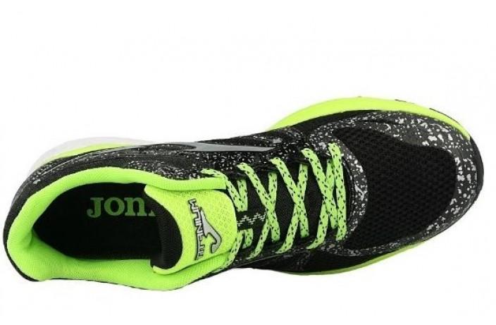 Кроссовки спортивные (для бега) черно-зеленые Joma TITANIUM