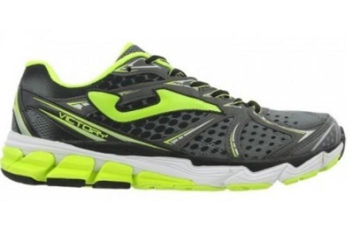 Кроссовки спортивные (для бега) серо-зеленые Joma VICTORY