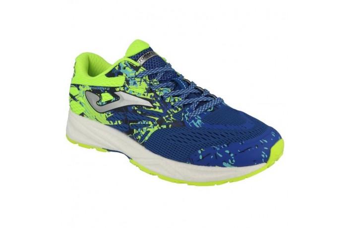Кроссовки спортивные (для бега) сине-желтые Joma STORM VIPER