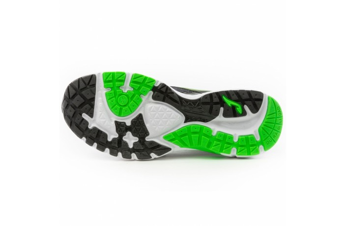 Кроссовки спортивные (для бега) черно-зеленые Joma VITALY
