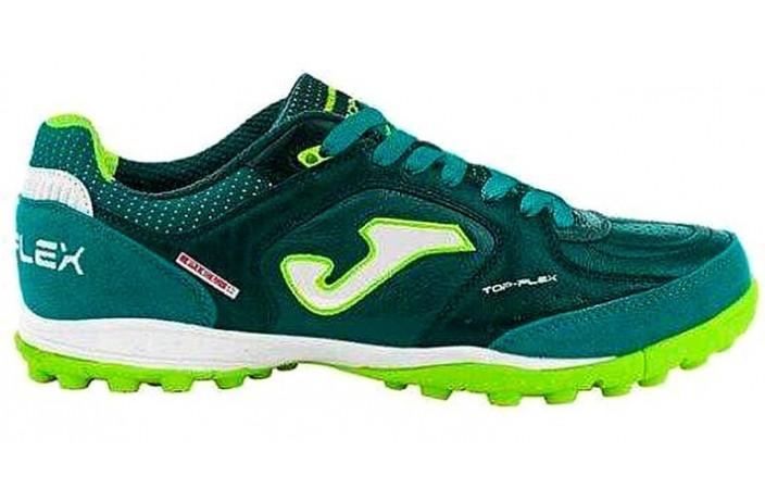Сороконожки (шиповки, многошиповки) сине-зеленые Joma TOP FLEX