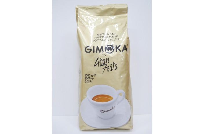 Кофе в зернах Gimoka Oro Gran Festa 1 кг. Оригинал. Италия
