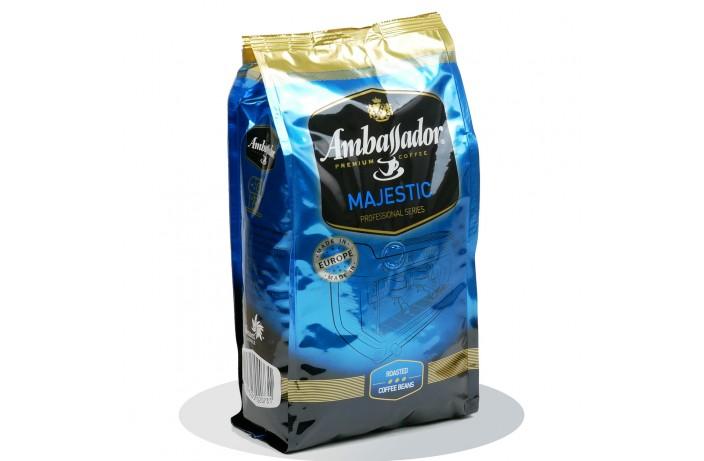 Кофе в зернах Ambassador Majestic 1 кг. Оригинал EU