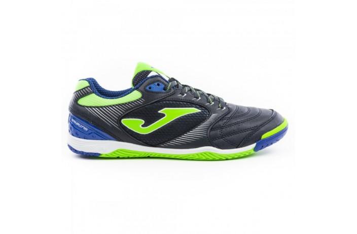 Обувь для зала (футзалки, бампы) сине-салатовые Joma DRIBLING