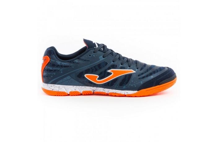 Обувь для зала (футзалки, бампы) сине-оранжевые Joma SUPER REGATE