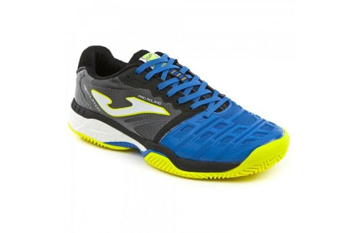 Кроссовки теннисные сине-желтые Joma PRO ROLAND