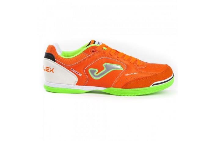 Обувь для зала (футзалки, бампы) оранжевая Joma TOP FLEX