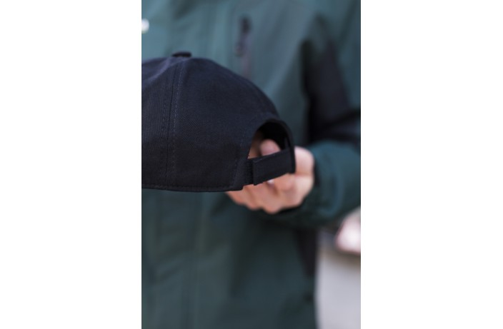 Мужская кепка (коттон черная)