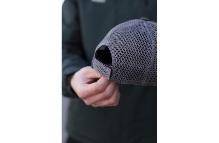 Мужская кепка (сетка антрацит)