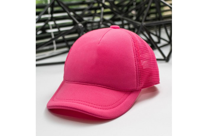 Мужская кепка (сетка розовая)