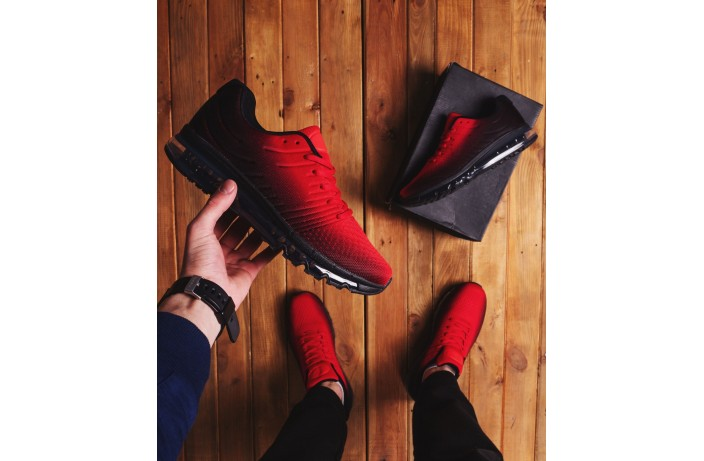 Мужские кроссовки Ривал 360 (красно-черные)