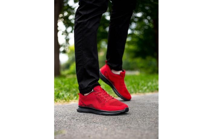 Мужские кроссовки Арес чери (красные)