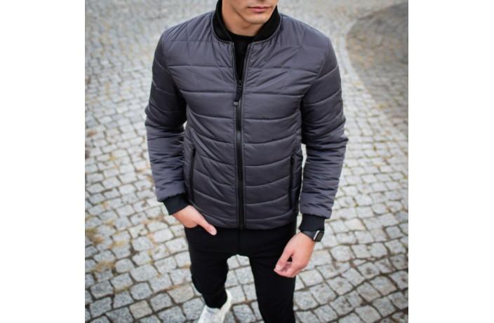 Мужская куртка Povezlo (серая)