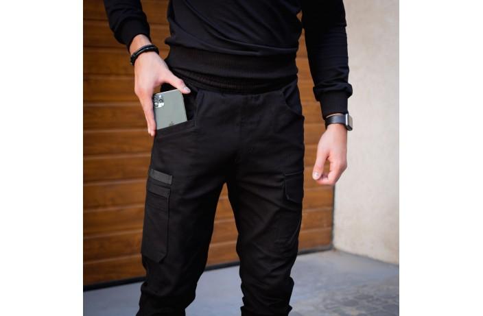 Мужские штаны Vibukh (черные)