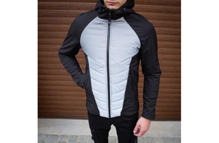Мужская куртка Rafael (черно-рефлектив)