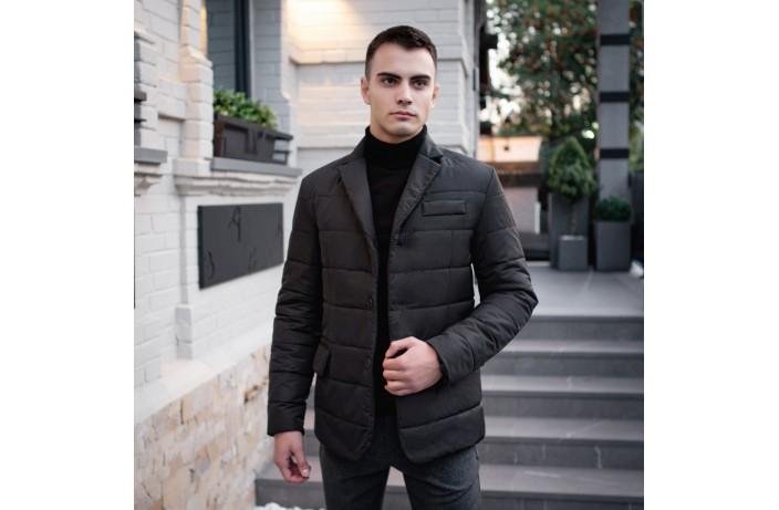 Мужская куртка-пиджак Dollar Bill (черная)
