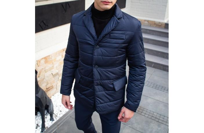 Мужская куртка-пиджак Dollar Bill (синяя)
