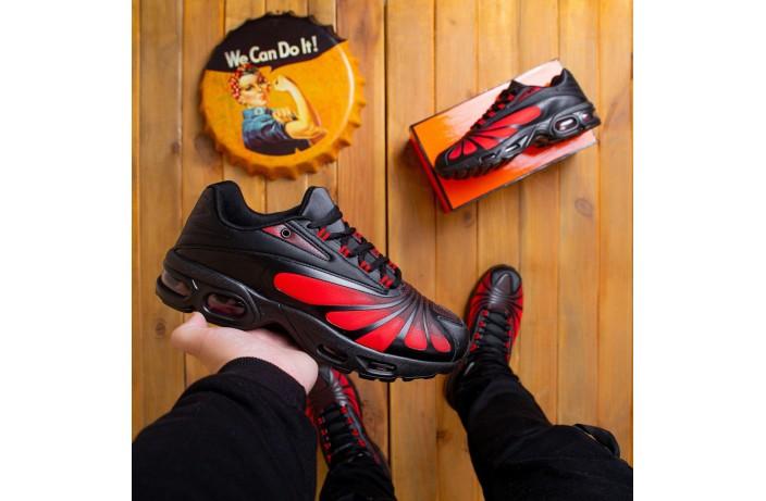 Мужские кроссовки Ривал батерфляй (черно-красные)