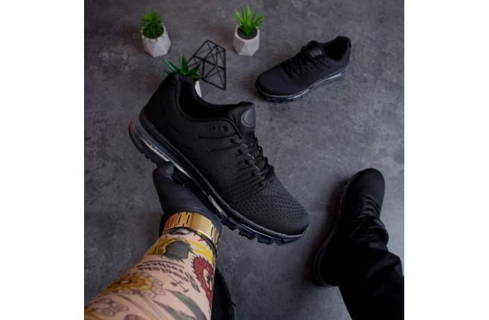 Мужские кроссовки Кросс 360 (черные)