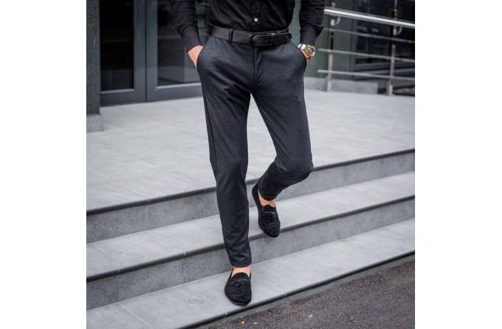 Мужские зимние штаны «Top heat» (антрацит)