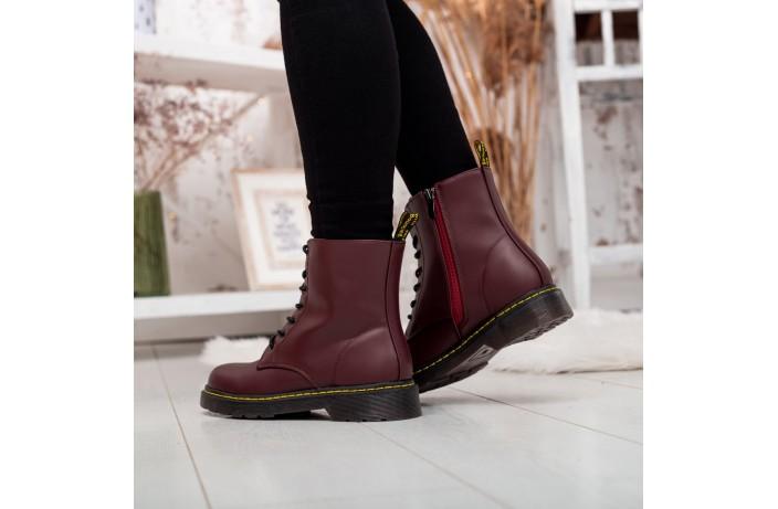 Женские ботинки Стилли  Эир Вейт (бордо)