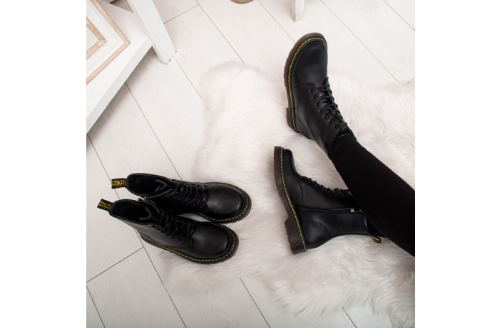 Женские ботинки Стилли  Эир Вейт (черные)