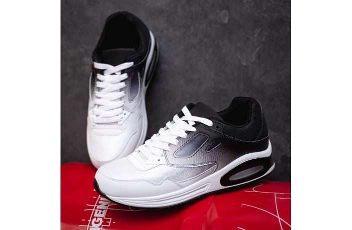 Мужские кроссовки Ривал 87 (черно-белые)