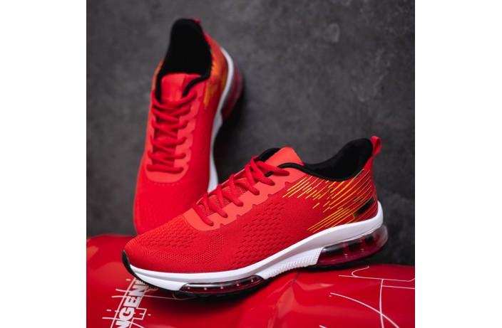 Мужские кроссовки Ривал Лагуна 90 (красные)