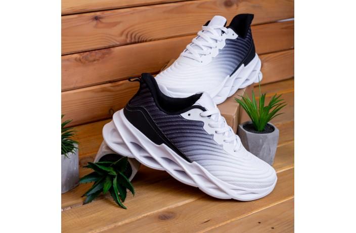 Мужские кроссовки Грот реберу (бело-черные)