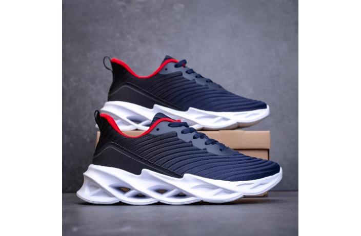 Мужские кроссовки Грот реберу (сине-черные)