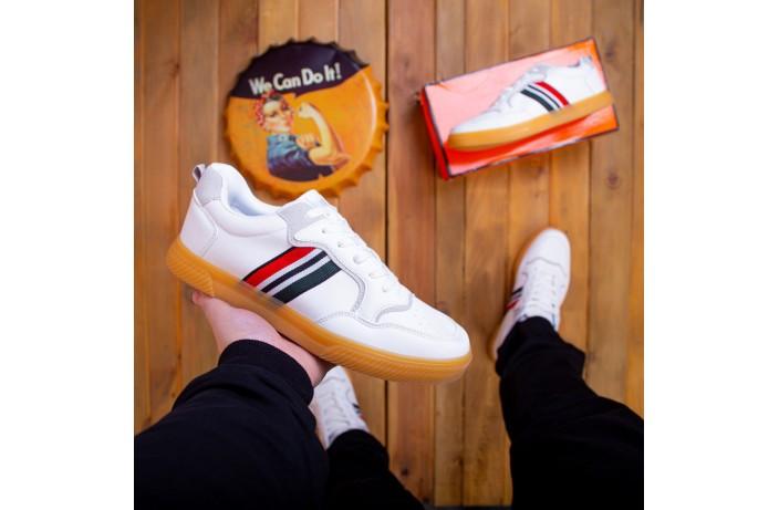 Мужские кроссовки Ситао Форс (белые)