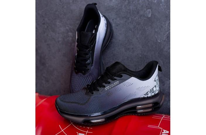 Мужские кроссовки Дифено Wild Rose (черно-белые)