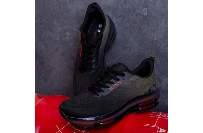 Мужские кроссовки Дифено Wild Rose (хаки-черные)