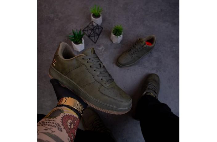 Мужские кроссовки Стилли Форс (хаки)