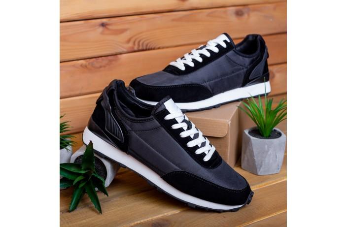 Мужские кроссовки Крос Мид Гранд (черные)