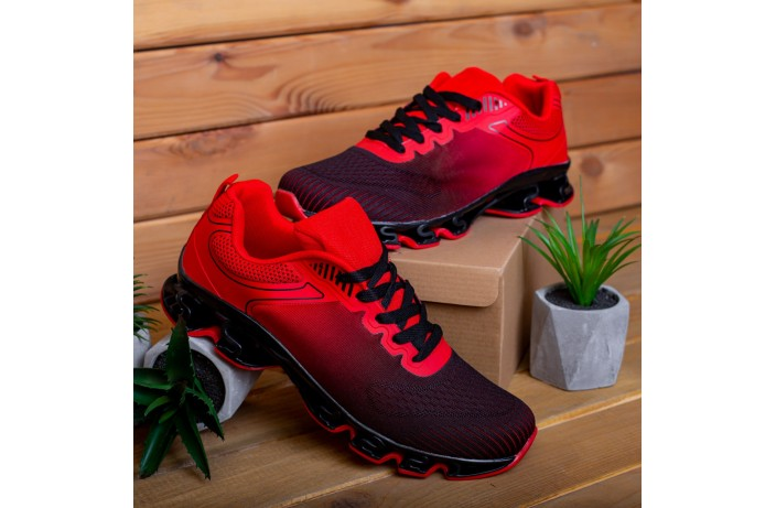 Мужские кроссовки Дифено Пента ОФФ (красно-черные)