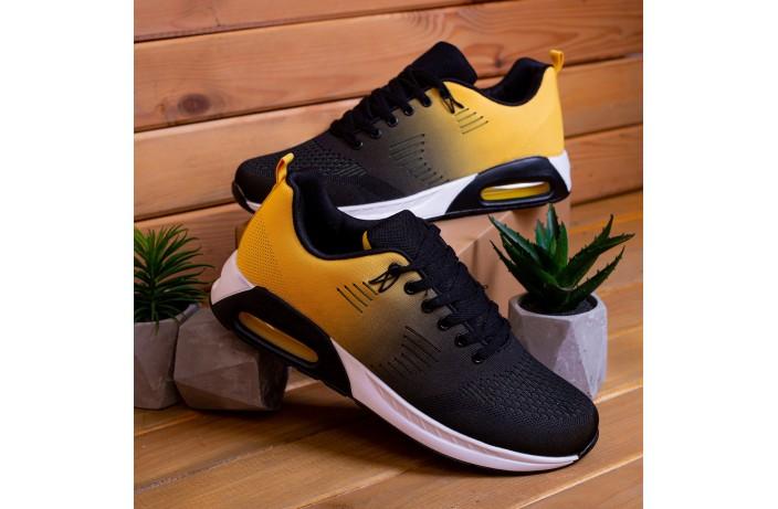Мужские кроссовки Дифено 90 (желто-черные)
