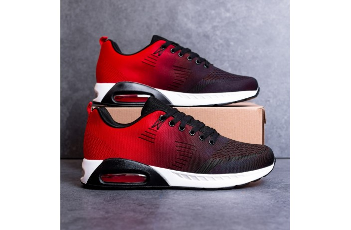Мужские кроссовки Дифено 90 (красно-черные)