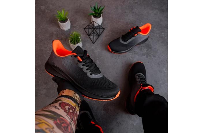 Мужские кроссовки  Дифено Ранер  (черно-серые)