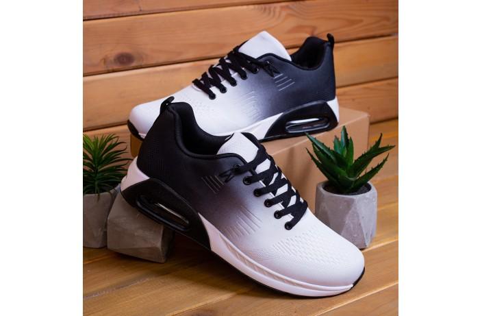 Мужские кроссовки  Дифено 90 (черно-белые)
