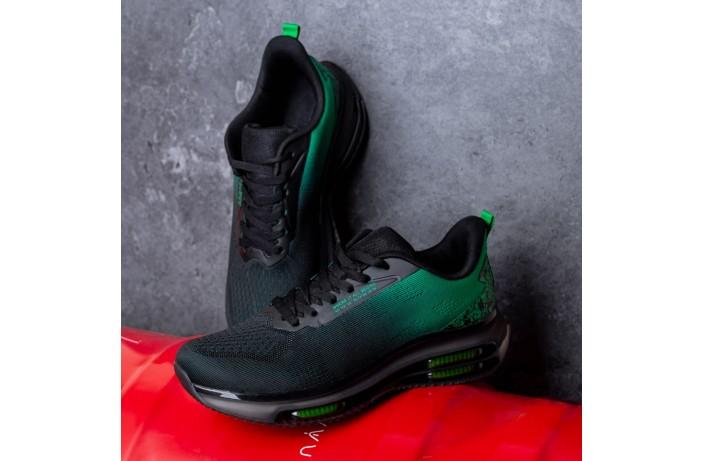 Мужские кроссовки Дифено Wild Rose (зелено-черные)