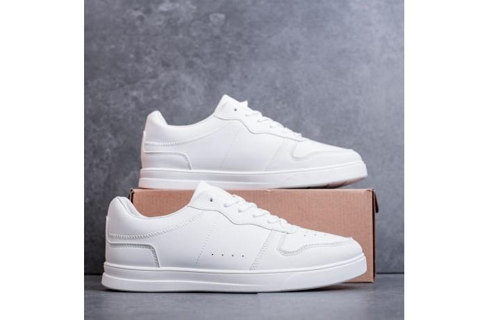 Мужские кроссовки Изи Форс (белые)