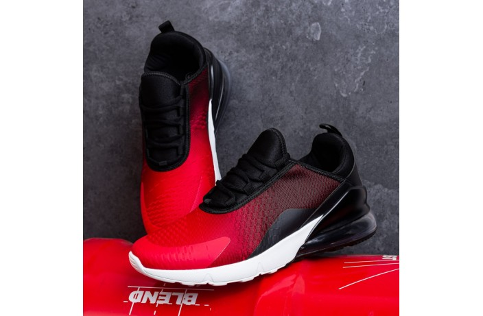 Мужские кроссовки Монтевид 270 (красно-черные)