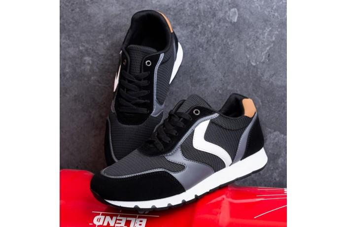 Мужские кроссовки Гилиполос (черные)