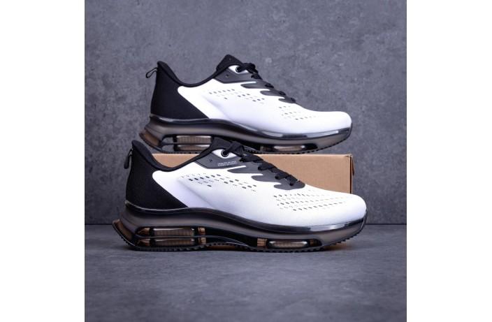 Мужские кроссовки Дифено Рейдж (черно-белые)