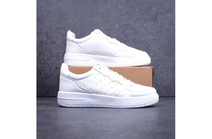 Мужские кроссовки Идеал (белые)