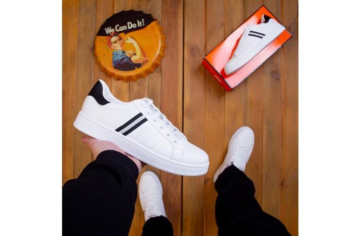 Мужские кроссовки Хорн (белые)